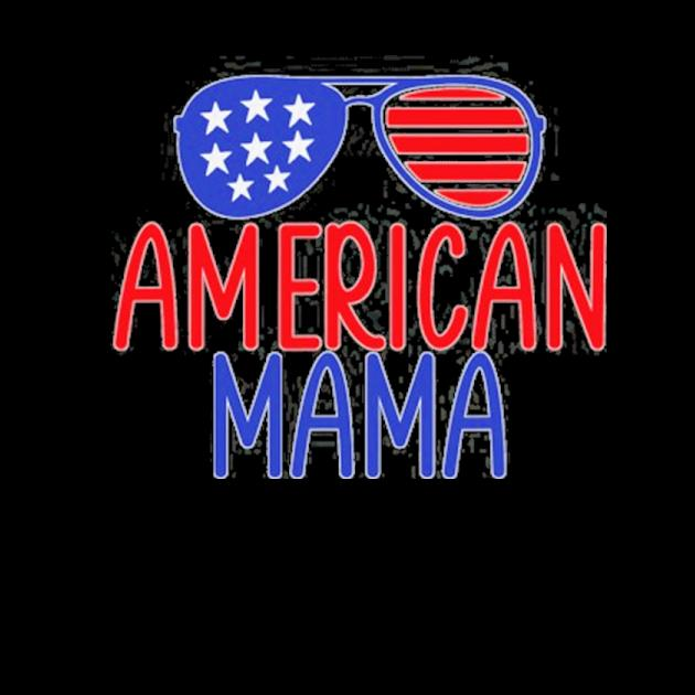 American mama red white blue aviator glasses preview