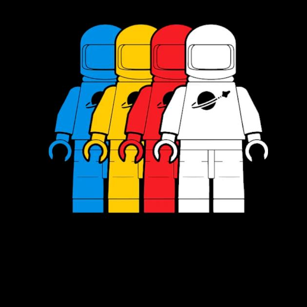 Classic spacemen kids preview