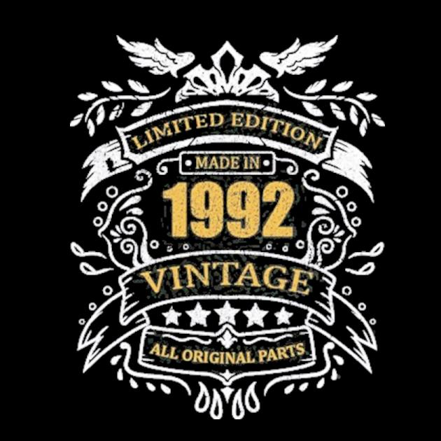 Limited edition 29th birthday gift idea vintage 1992 ver2 preview