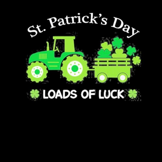 St. patrick's day tractor preview
